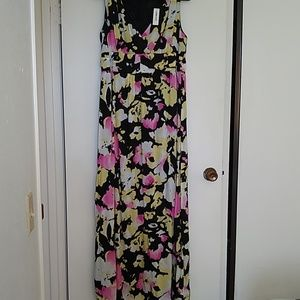 Floral Maxi Dress NWT Size14 Old Navy